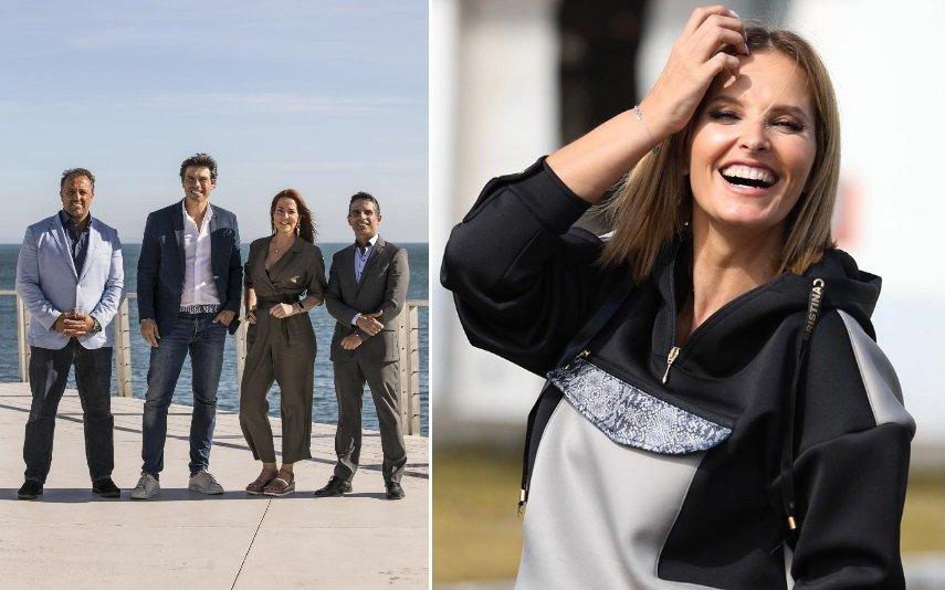 Os especialistas de Casados à Primeira Vista e Cristina Ferreira