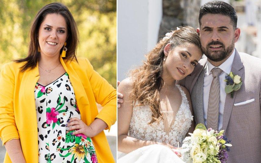 Soraia e o casal Anabela e Lucas