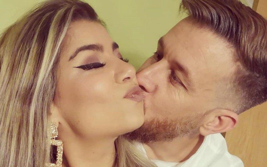 Cláudio Mendes e Raquel Pereira