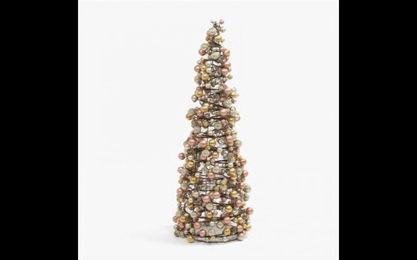 Árvore Bolas Bronze Gato Preto - 69,95€