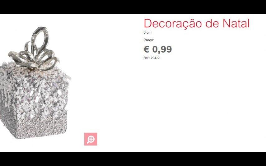 Decoração Natalícia - 0.99 € Espaço Casa