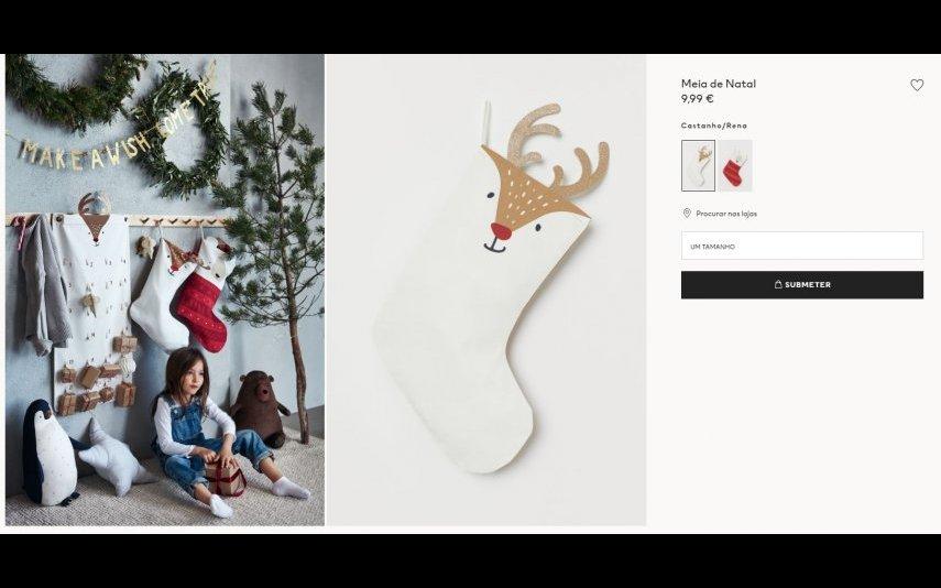 Meia de Natal - 9.99€ H&M