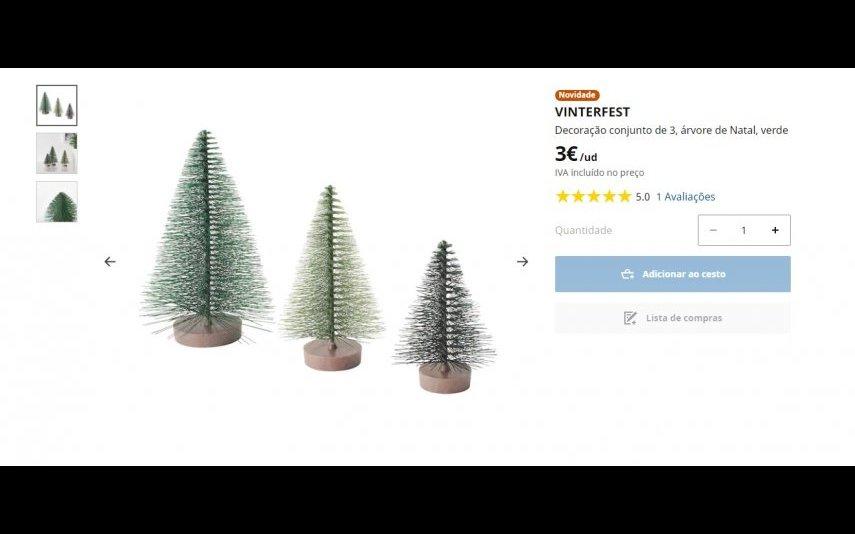 Árvores decorativas - 3€ IKEA