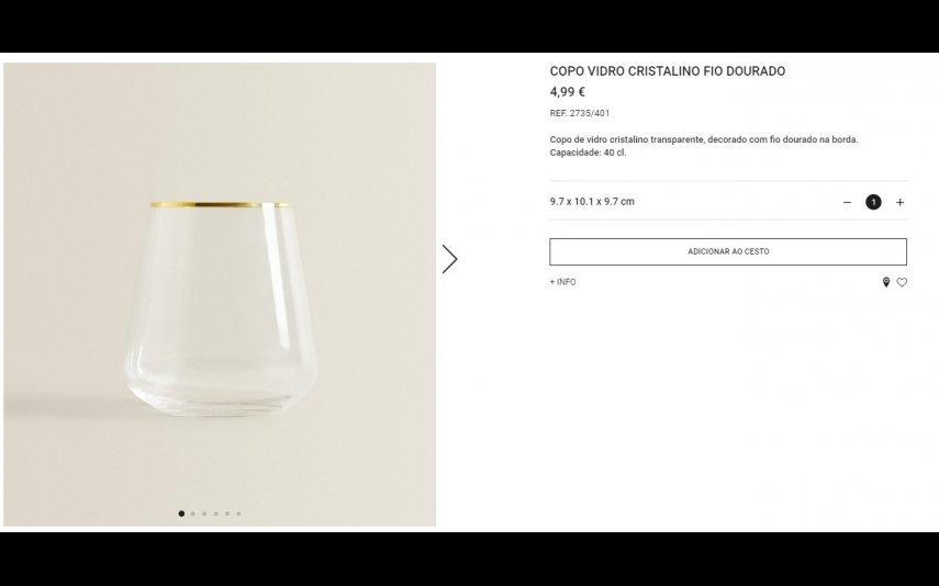 Copo - 4.99 € Zara Home