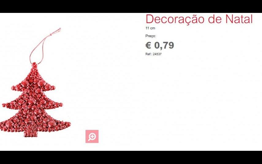 Decoração de Natal - 0.79 € Espaço Casa