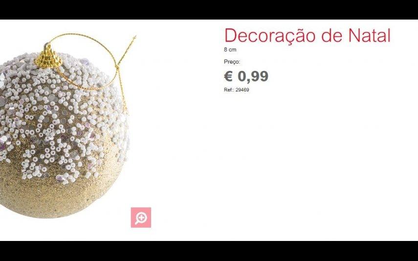 Bola de Natal - 0.99 € Espaço Casa