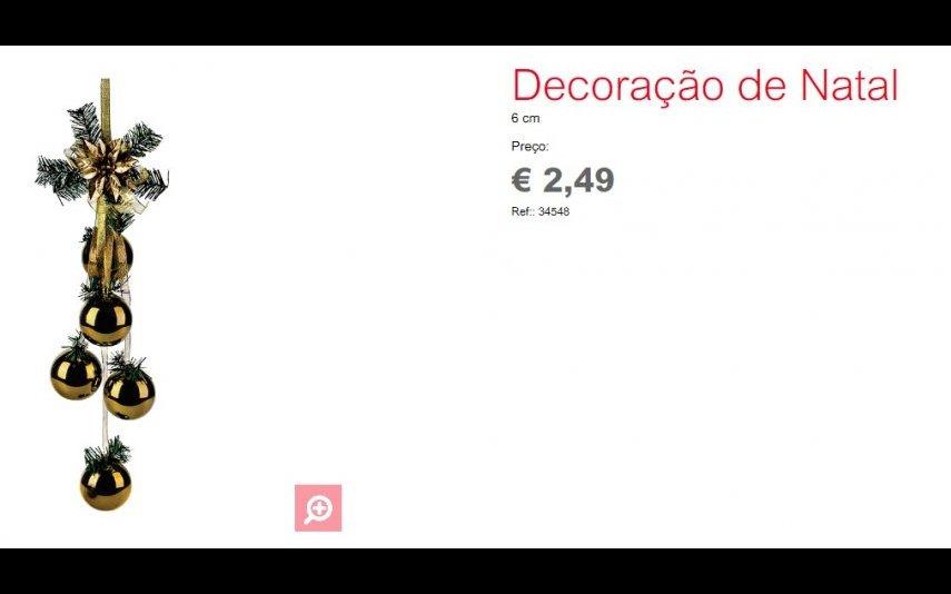 Decoração de Natal - 2.49 € Espaço Casa