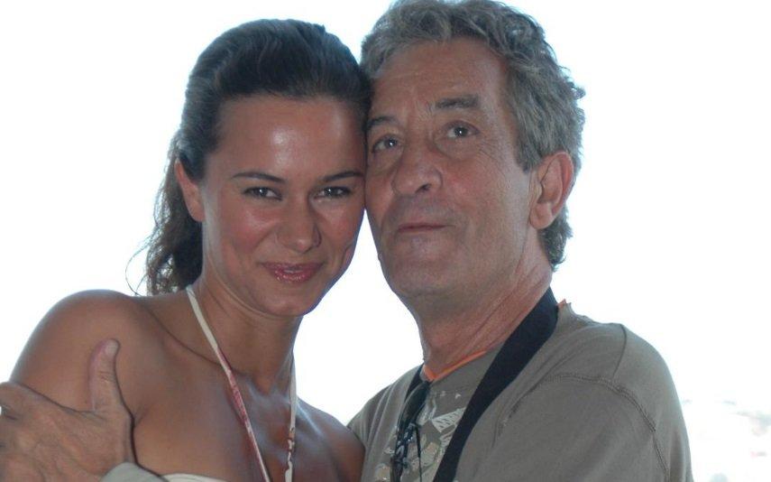Carlos Areia e Cláudia Vieira
