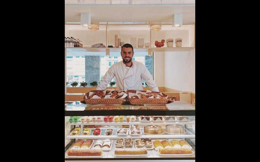 Marco Costa na nova pastelaria
