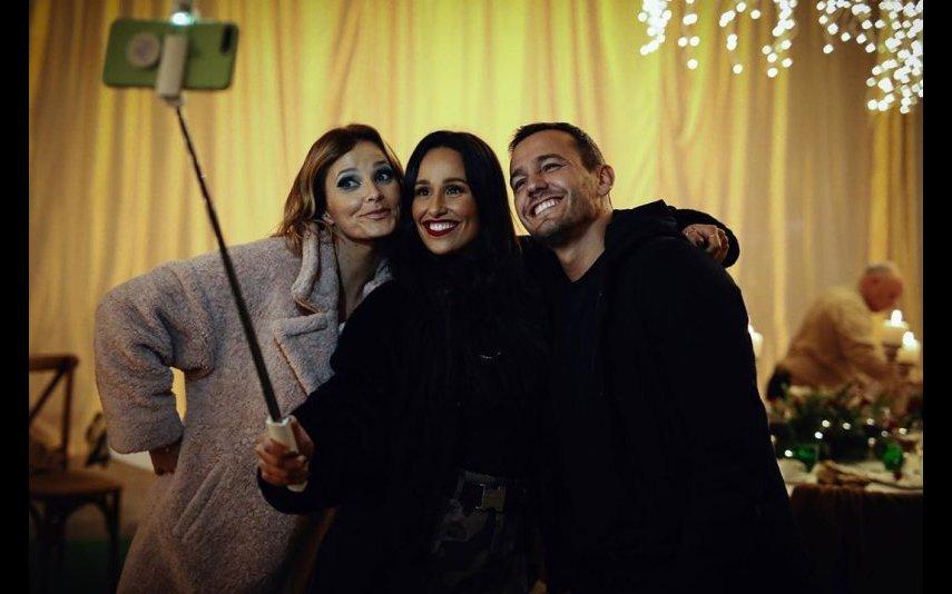 Cristina Ferreira, Rita Pereira e Pedro Teixeira